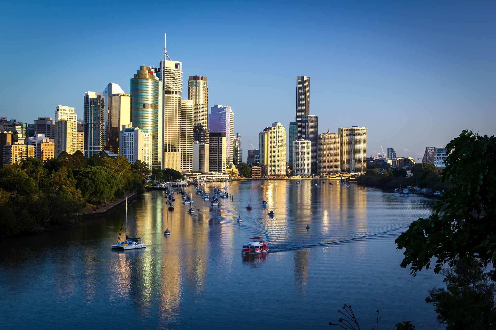 Brisbane at dawn