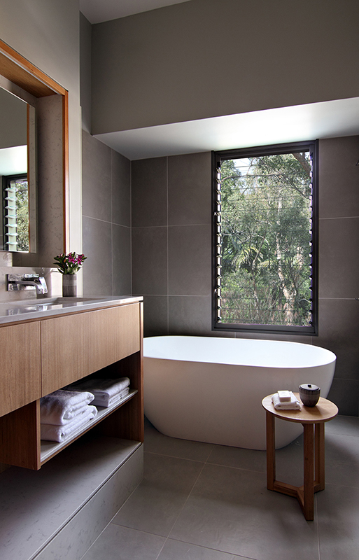 Elements cabin bathroom