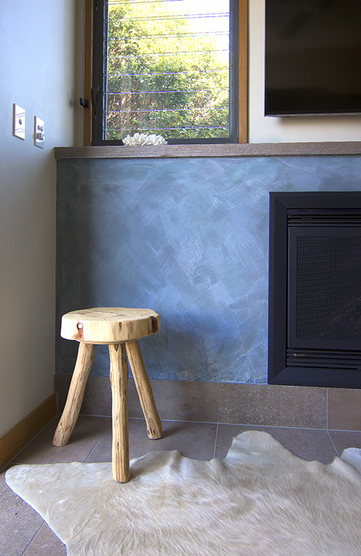 even a fireplace
