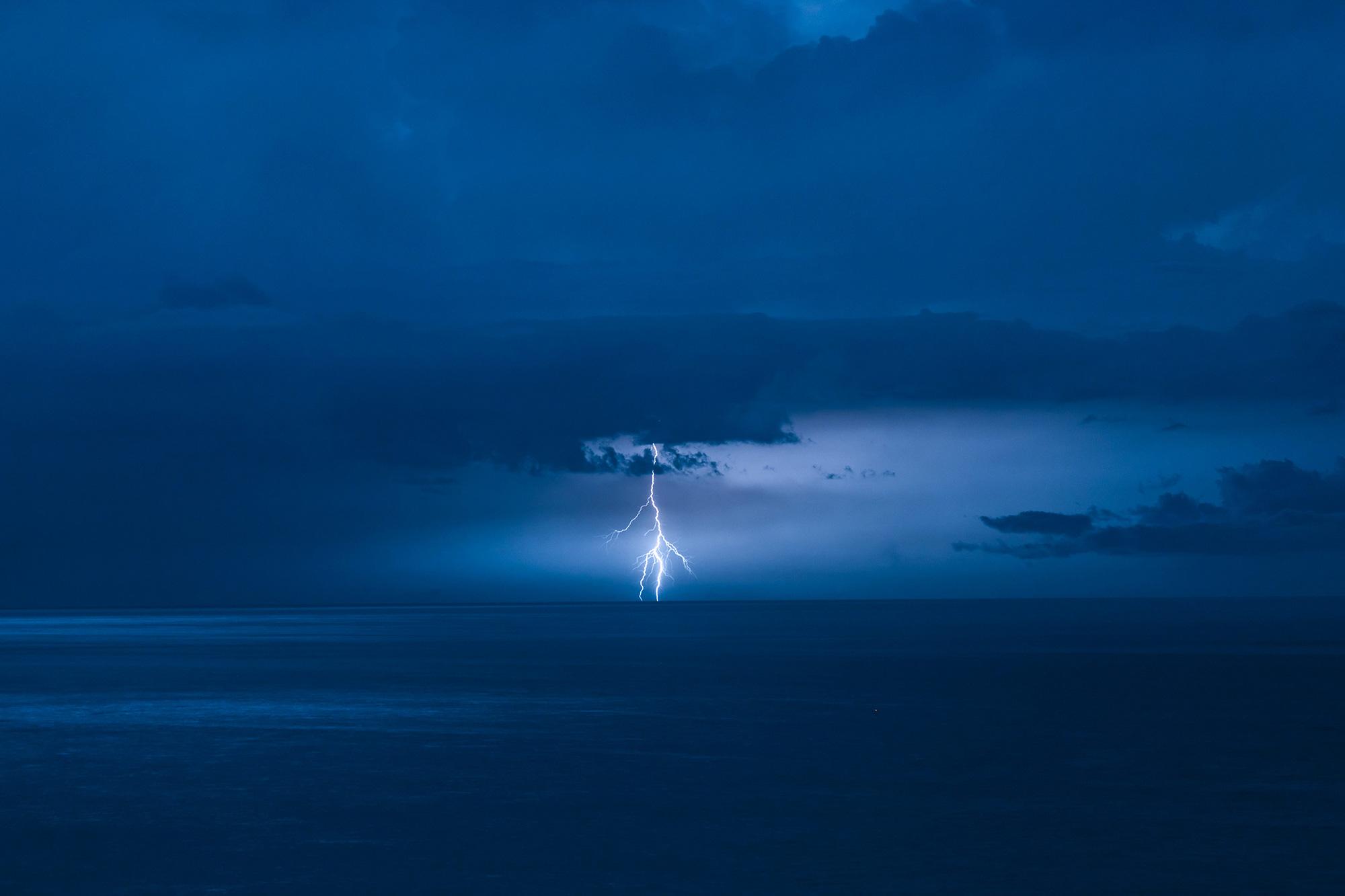 Lightening at Main Beach